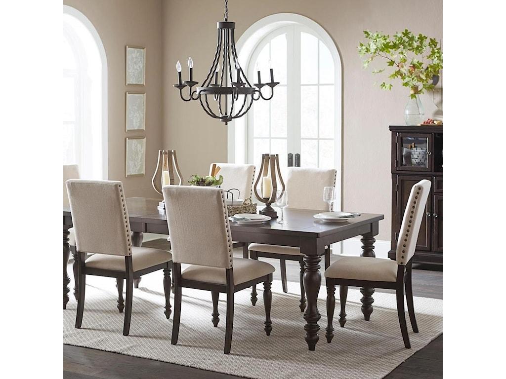 Homelegance BegoniaSide Chair