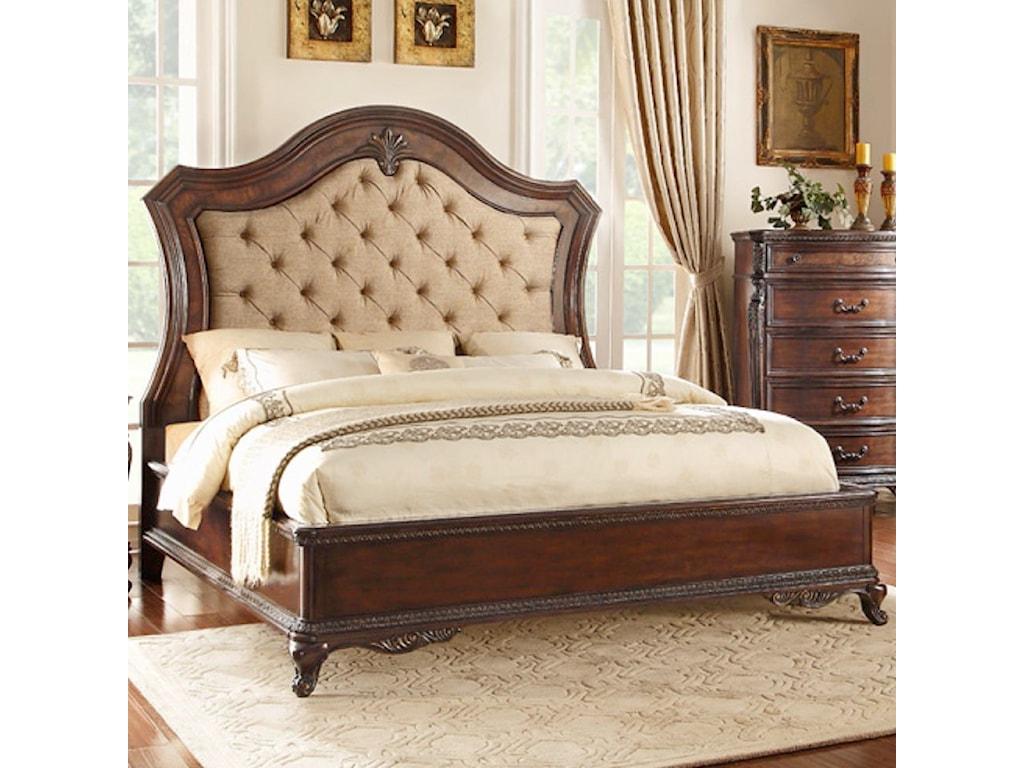 Homelegance Bonaventure - 1935Queen Low Profile Bed
