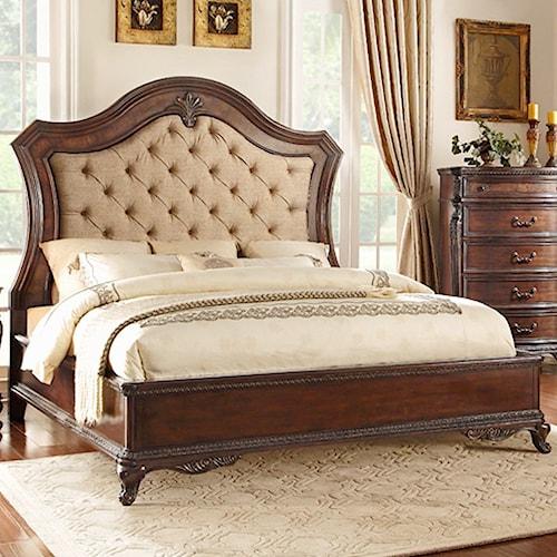 Homelegance Bonaventure - 1935 Queen Low Profile Bed