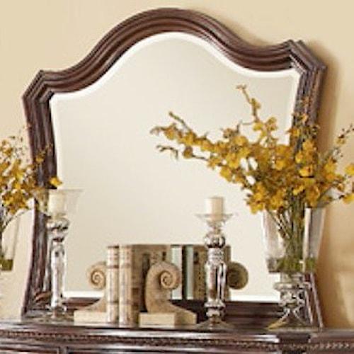 Homelegance Bonaventure - 1935 Traditional Mirror with Elegant Wood Moulding