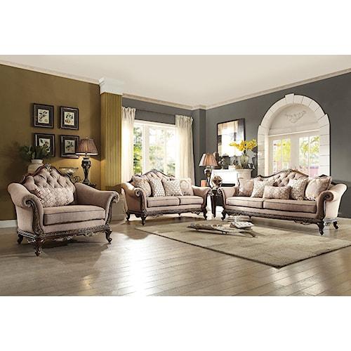 Homelegance Bonaventure Living Room Group