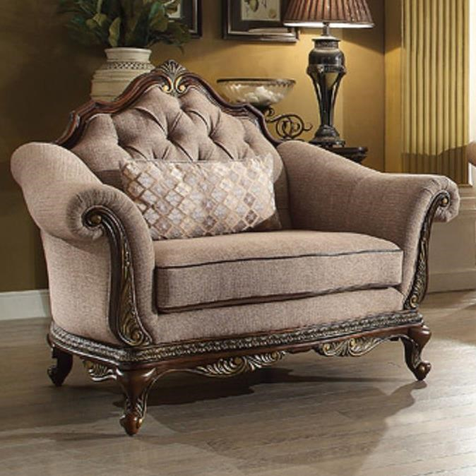 Homelegance BonaventureChair with Tufted Back