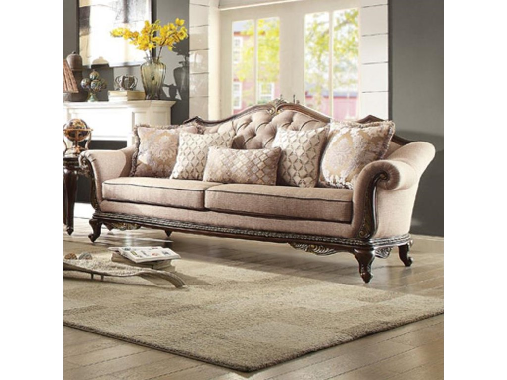 Bonaventure Sofa with Tufted Back