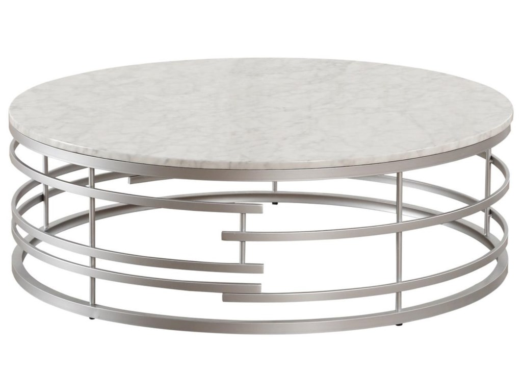 Homelegance BrassicaLarge Round Cocktail Table