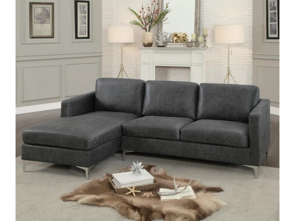Homelegance Breaux2 Piece Sectional