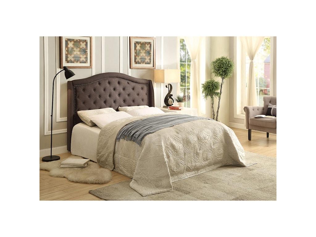 Homelegance BryndleQueen Upholstered Bed