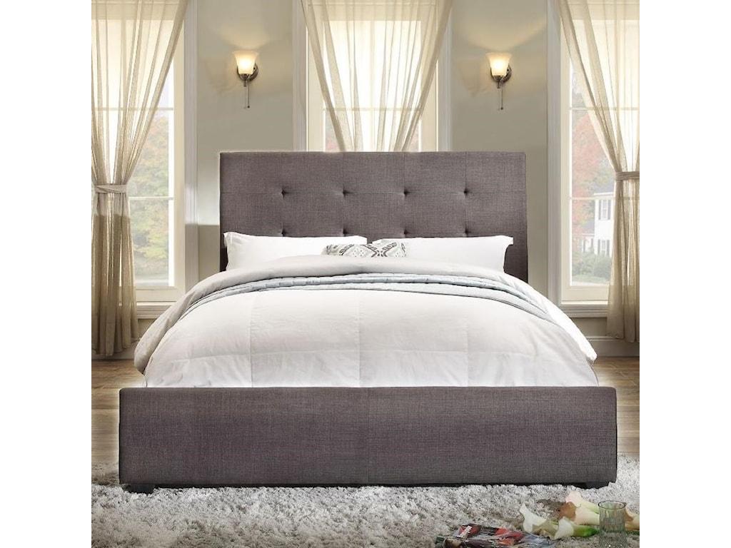 Homelegance CadmusCalifornia King Upholstered Bed