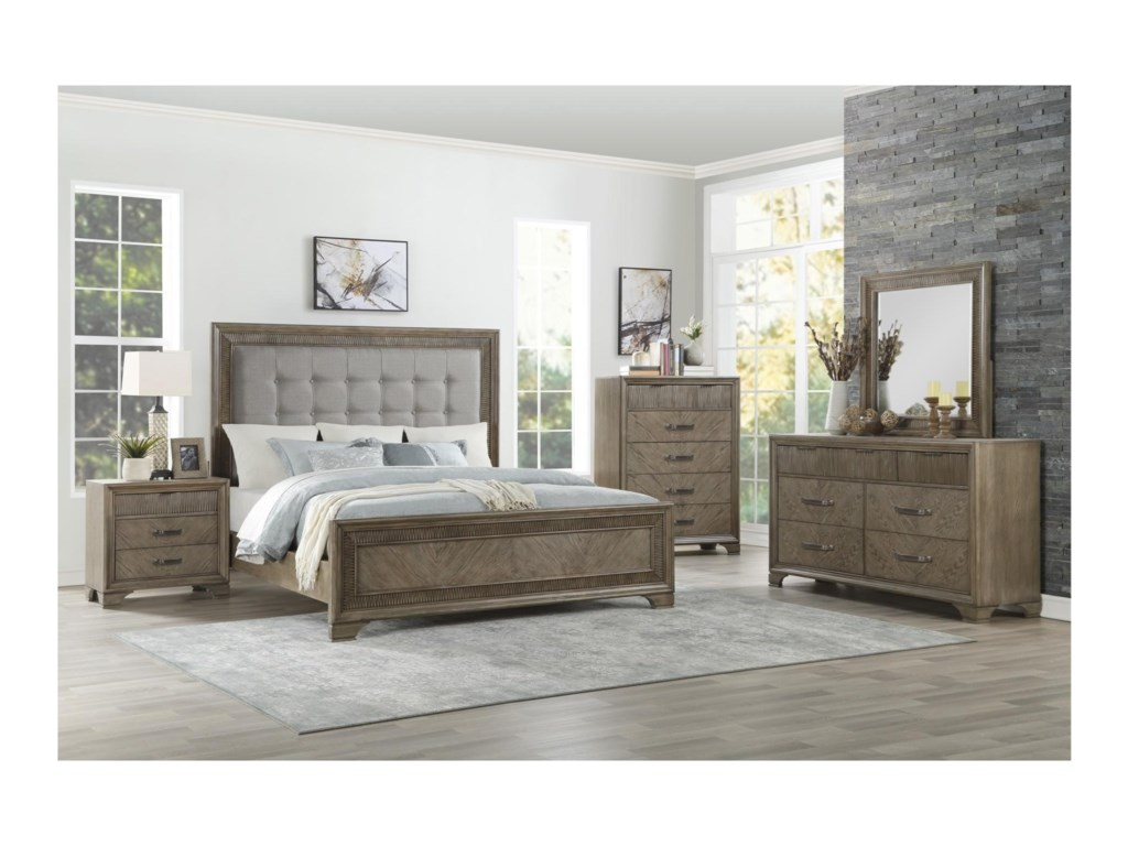 Homelegance CaruthQueen Bedroom Group