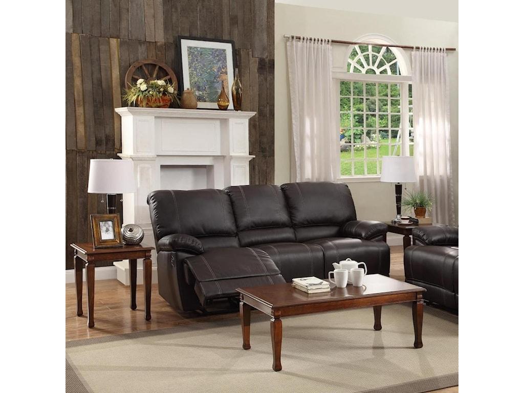 Homelegance CassvilleDouble Reclining Sofa