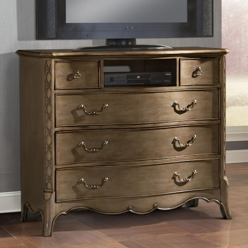 Homelegance Chambord TV Chest with 5 Drawers