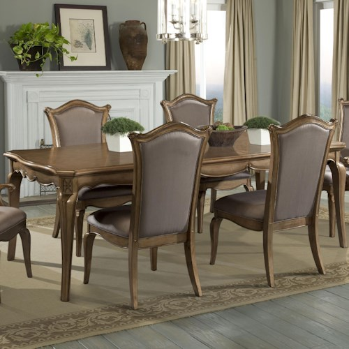 Homelegance Chambord Dining Table with Cabriole Legs