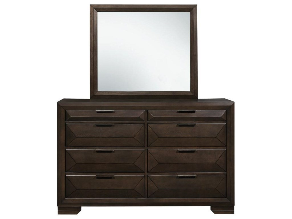 Homelegance CheskyDresser and Mirror Set