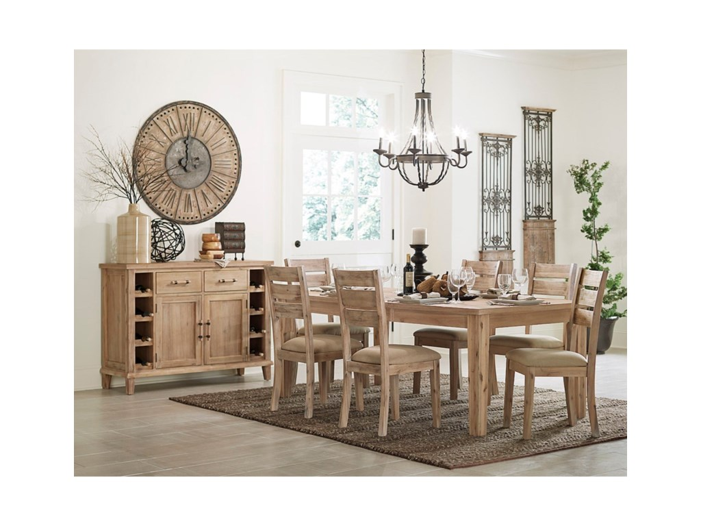 Homelegance ColmarContemporary Dining Side Chair
