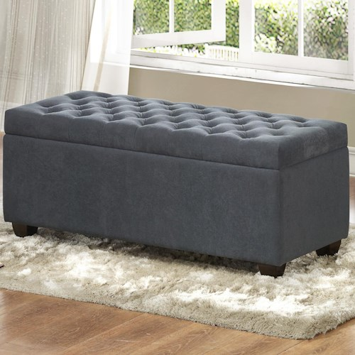 Homelegance Colusa Lift-Top Storage Bench