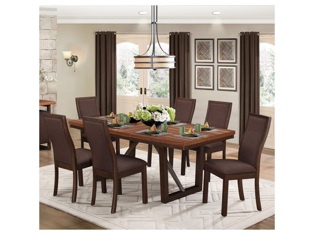 Homelegance CompsonTable and Chair Set