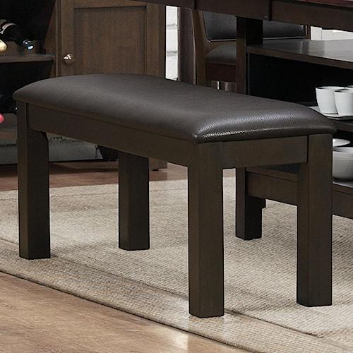 Homelegance Corliss Upholstered Dining Bench
