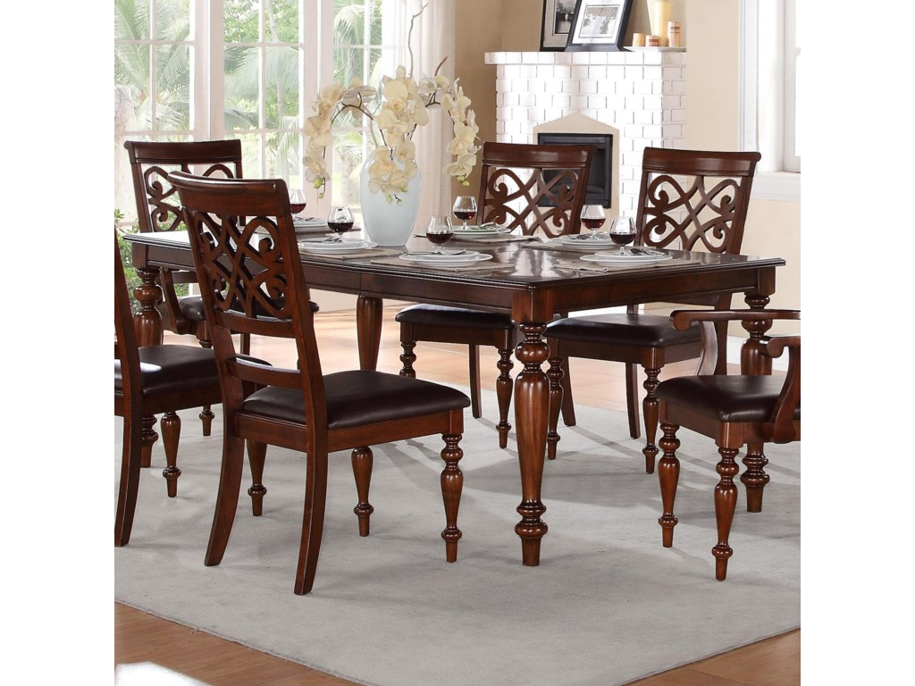 Homelegance Creswellformal Dining Table