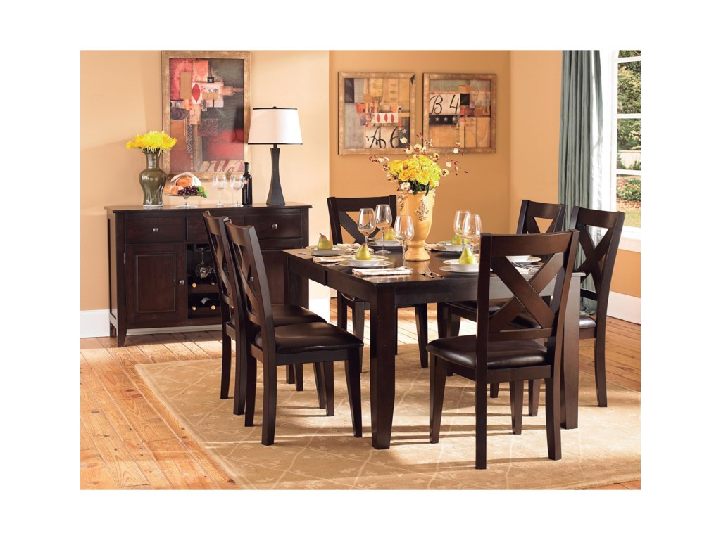 Homelegance Crown PointDining Table
