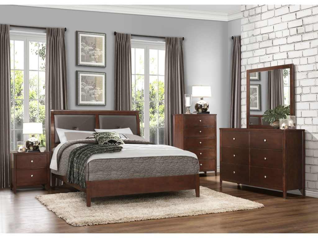 Homelegance CullenQueen Headboard and Footboard