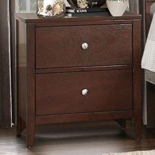 Homelegance CullenModern 2-Drawer Nightstand