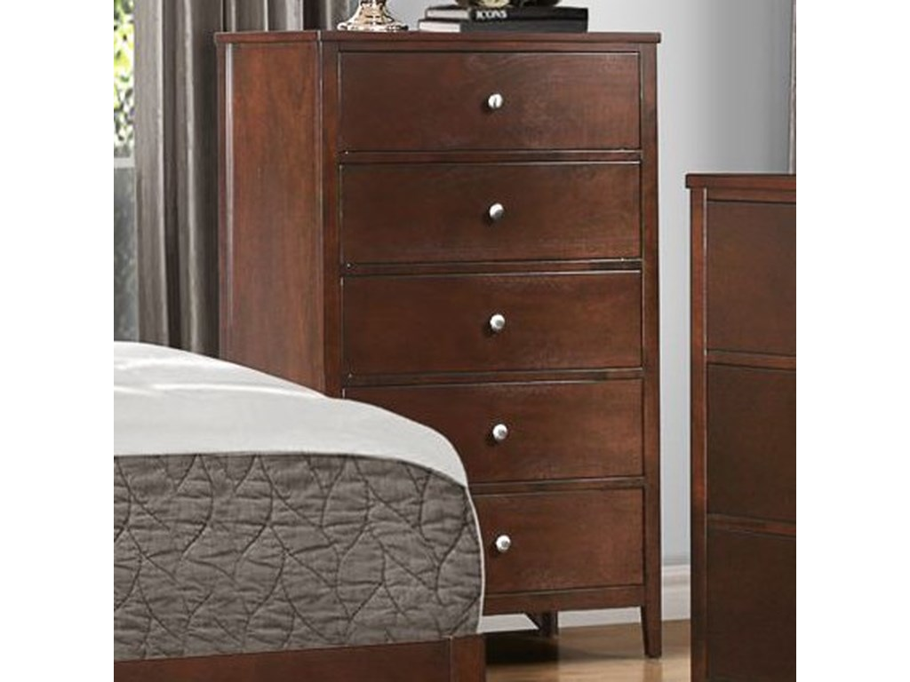 Homelegance CullenModern 5-Drawer Chest of Drawers