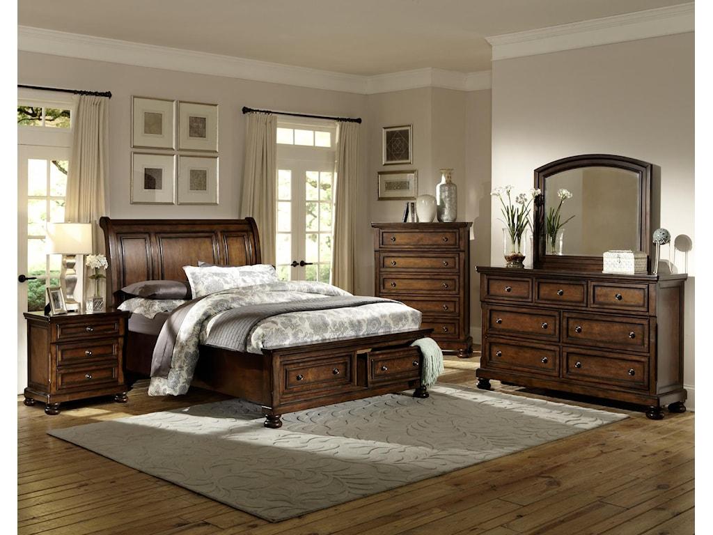 Homelegance Cumberland King Storage Bed