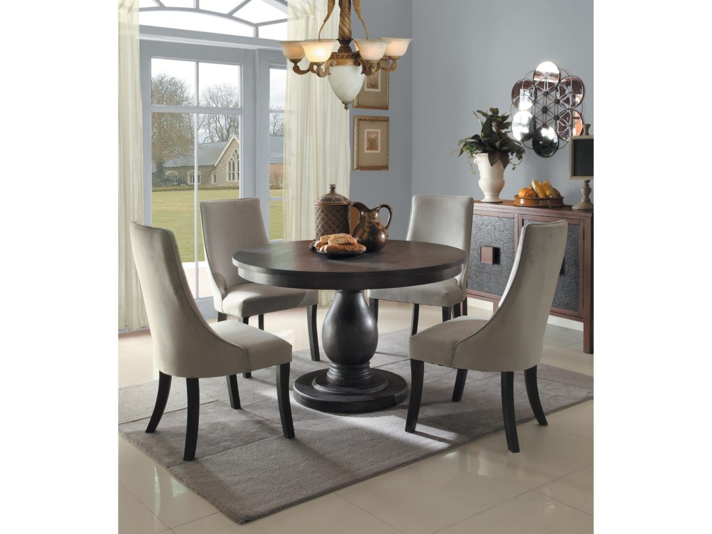 Homelegance Dandelion5 Piece Chair & Table Set