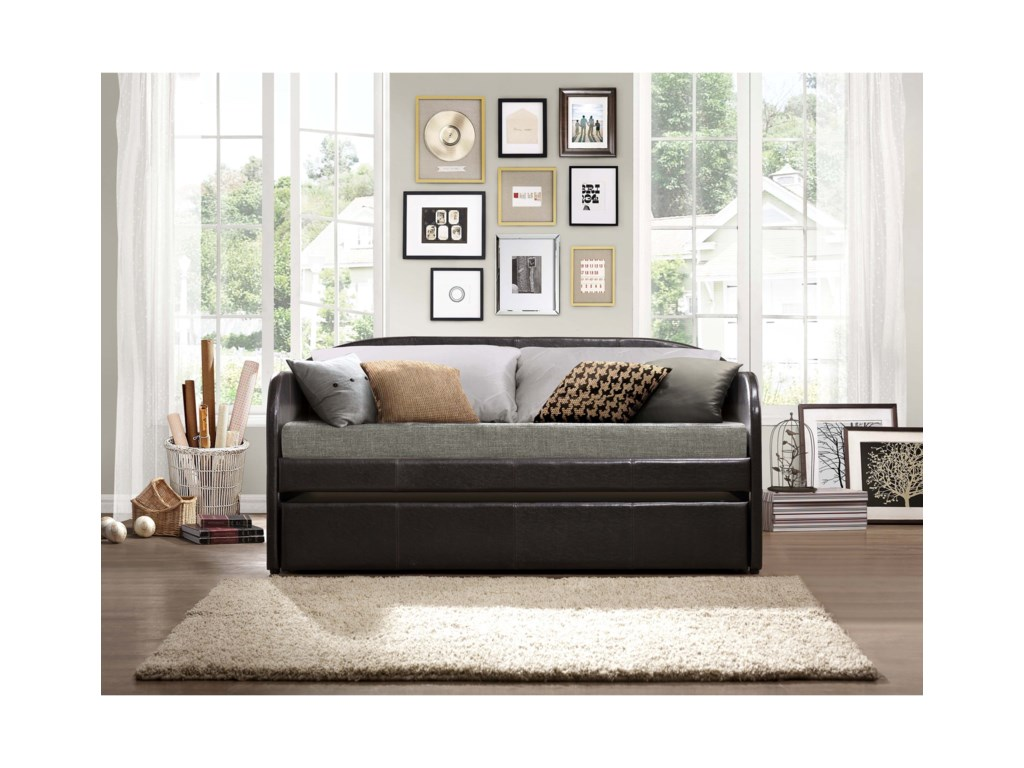 Homelegance DaybedsRoland Daybed with Trundle