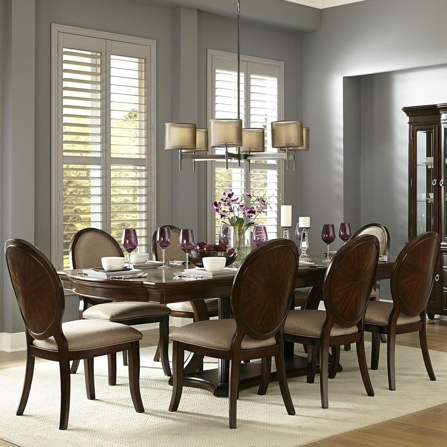 Nice Homelegance Delavan Transitional Dining Table And Chair Set   Hudsonu0027s  Furniture   Dining 7 (or More) Piece Sets