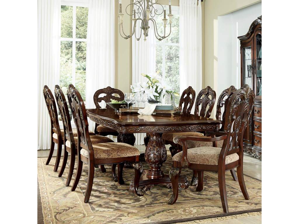 Deryn Park Dining Table and Chair Set