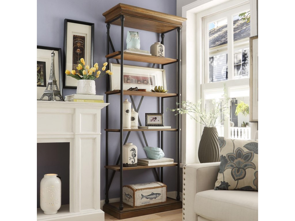 Homelegance E296Open Bookcase