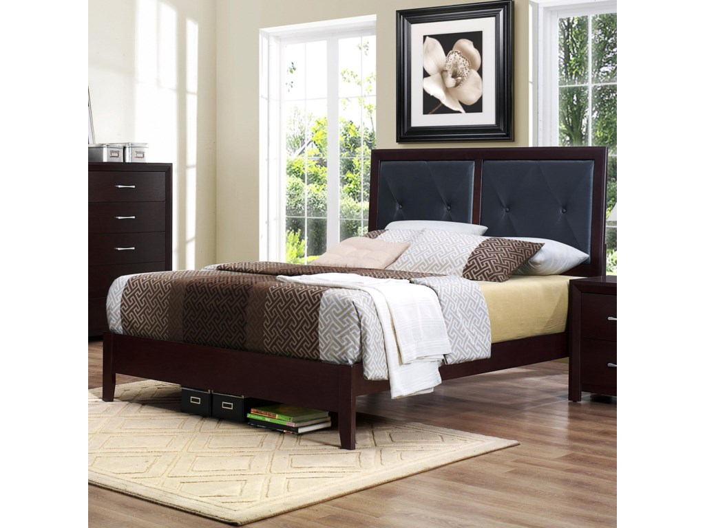 Homelegance EdinaFull Panel Bed