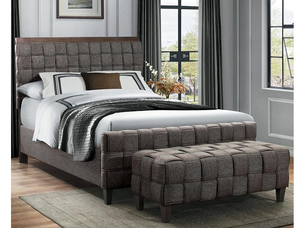 Homelegance ElistaCalifornia King Upholstered Bed