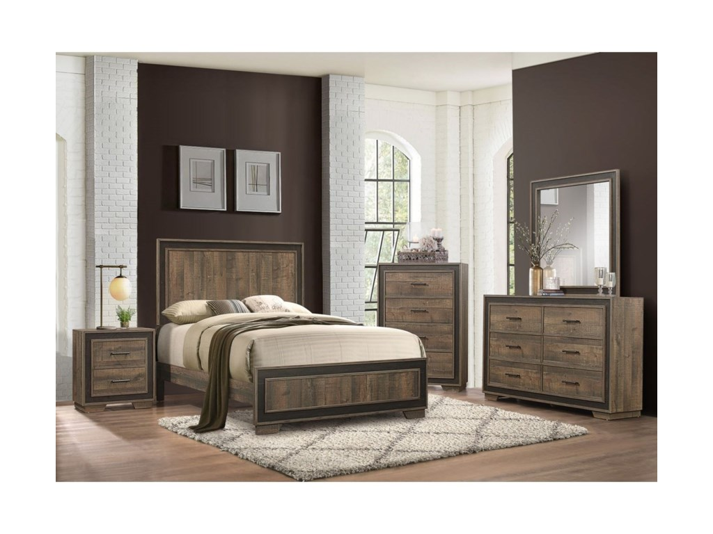 Homelegance EllendaleQueen Bedroom Group - Chest Not Included