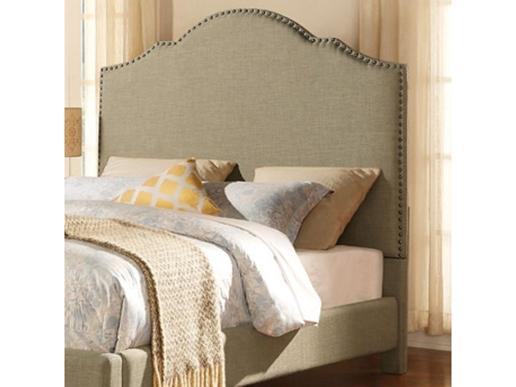 Homelegance EmberContemporary King Upholstered Headboard