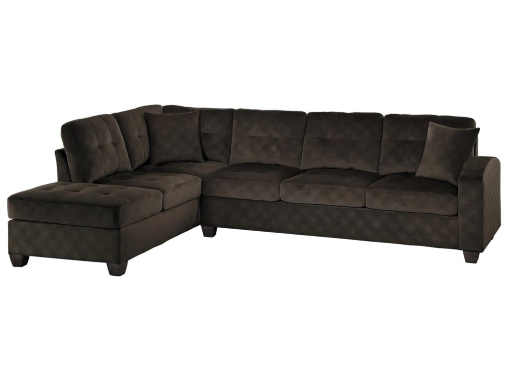 Homelegance EmilioTwo Piece Sectional