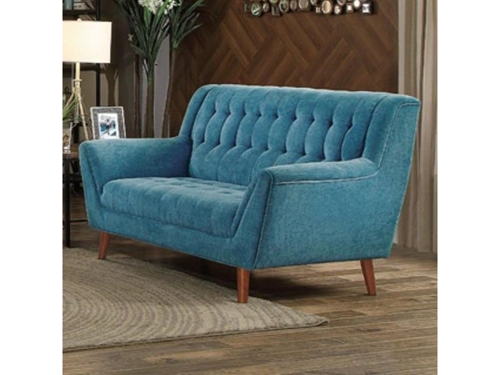 Homelegance ErathUpholstered Loveseat