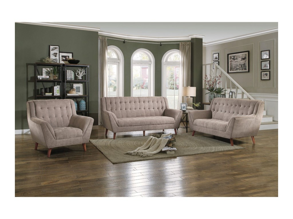 Homelegance ErathStationary Living Room Group