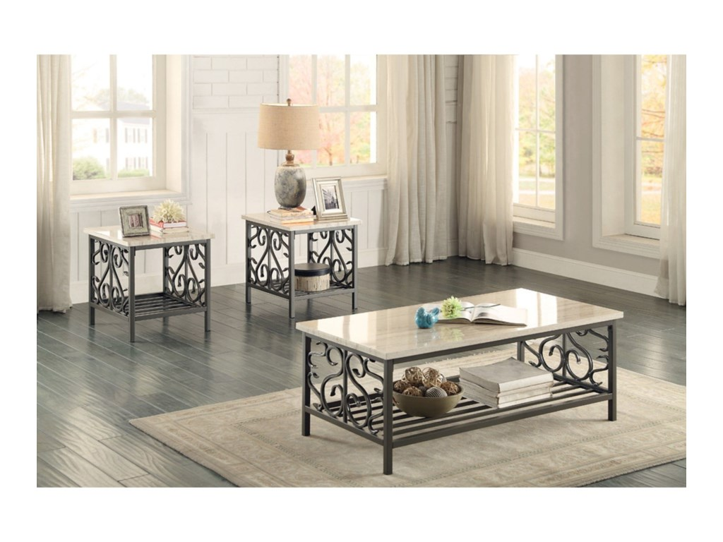 Homelegance Fairhope3Pc Occasional Table Group