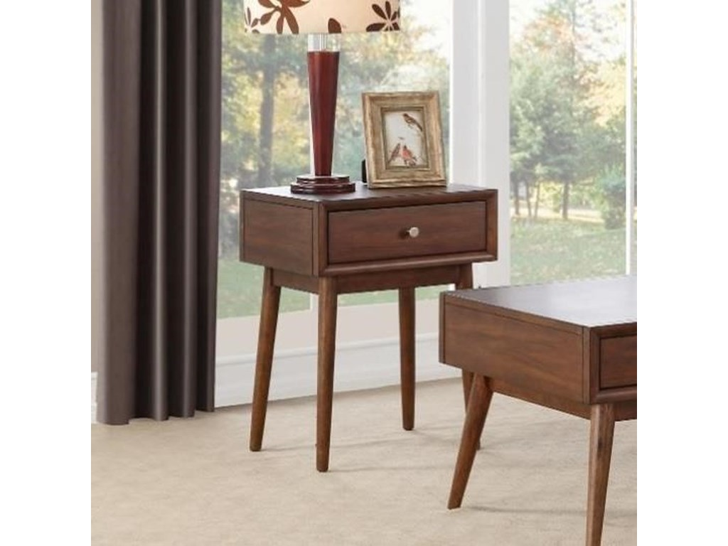 Homelegance FrolicEnd Table with Drawer