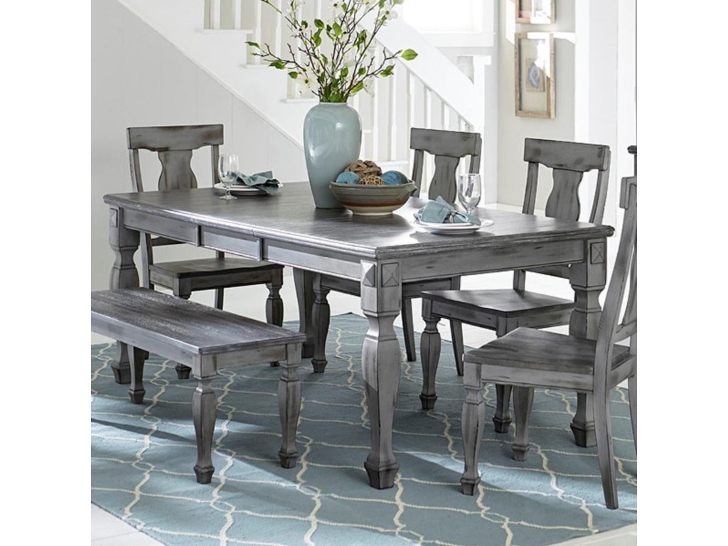 Homelegance Fulbright 5520 78 Rectangular Dining Table With