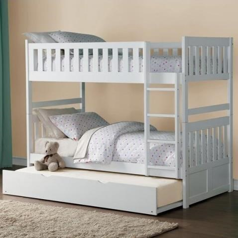 Homelegance Galen Twin Over Twin Bunk Bed With Trundle Beck S