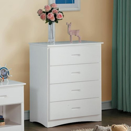 Homelegance Galen Transitional Youth Chest of Drawers