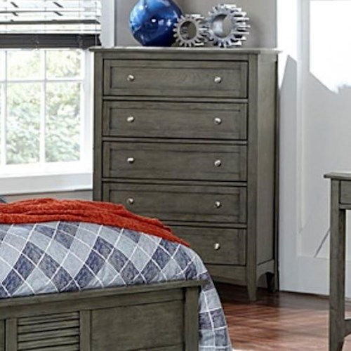 Homelegance Garcia Transitional Chest of Drawers with 5-Drawers