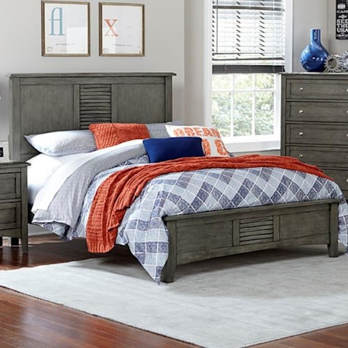 Homelegance Garcia Transitional Full Headboard and Footboard Bed