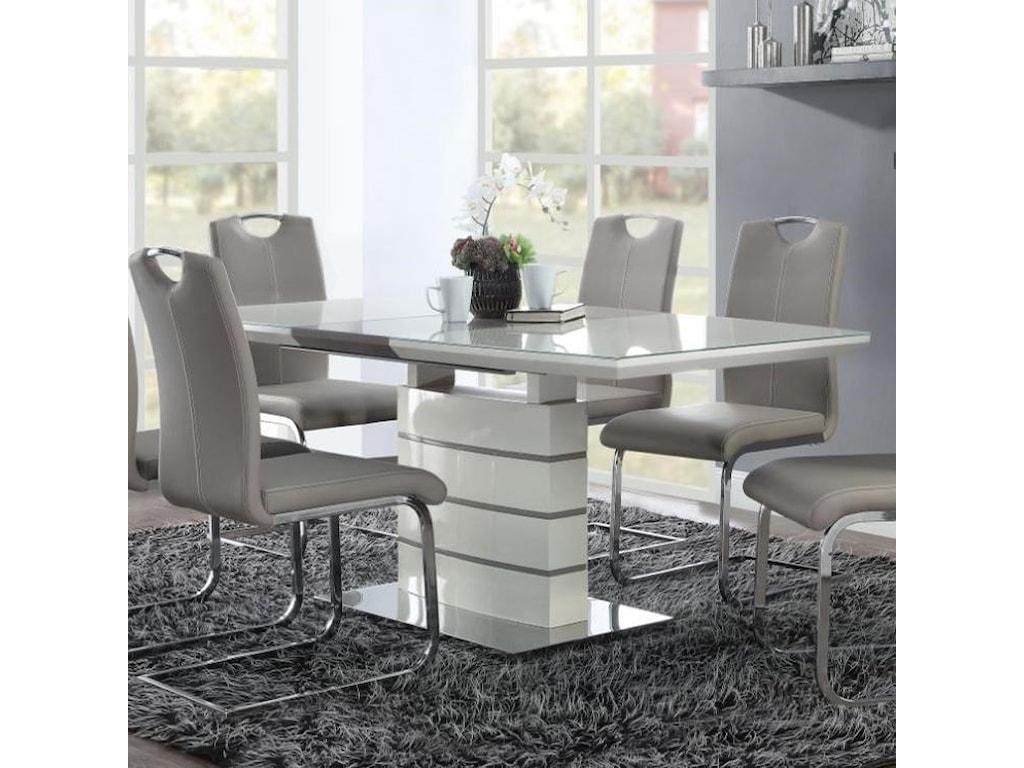 Homelegance GlissandDining Table