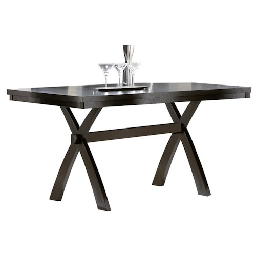 Homelegance Sherman Rectangular Counter Height Table