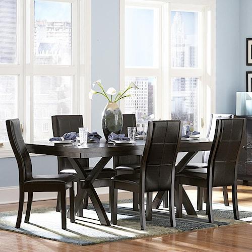 Homelegance Sherman 7 Piece Table & Chair Set