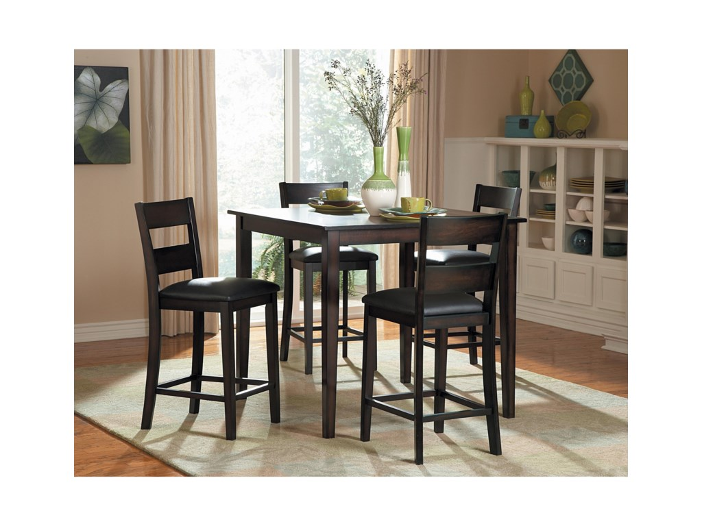 Homelegance Griffin5Pc Counter Height Table and Chair Set