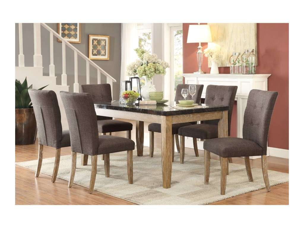Homelegance HuronContemporary Dining Side Chair
